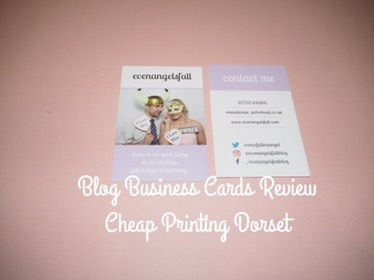 Blog Business Cards Review – Cheap Printing Dorset