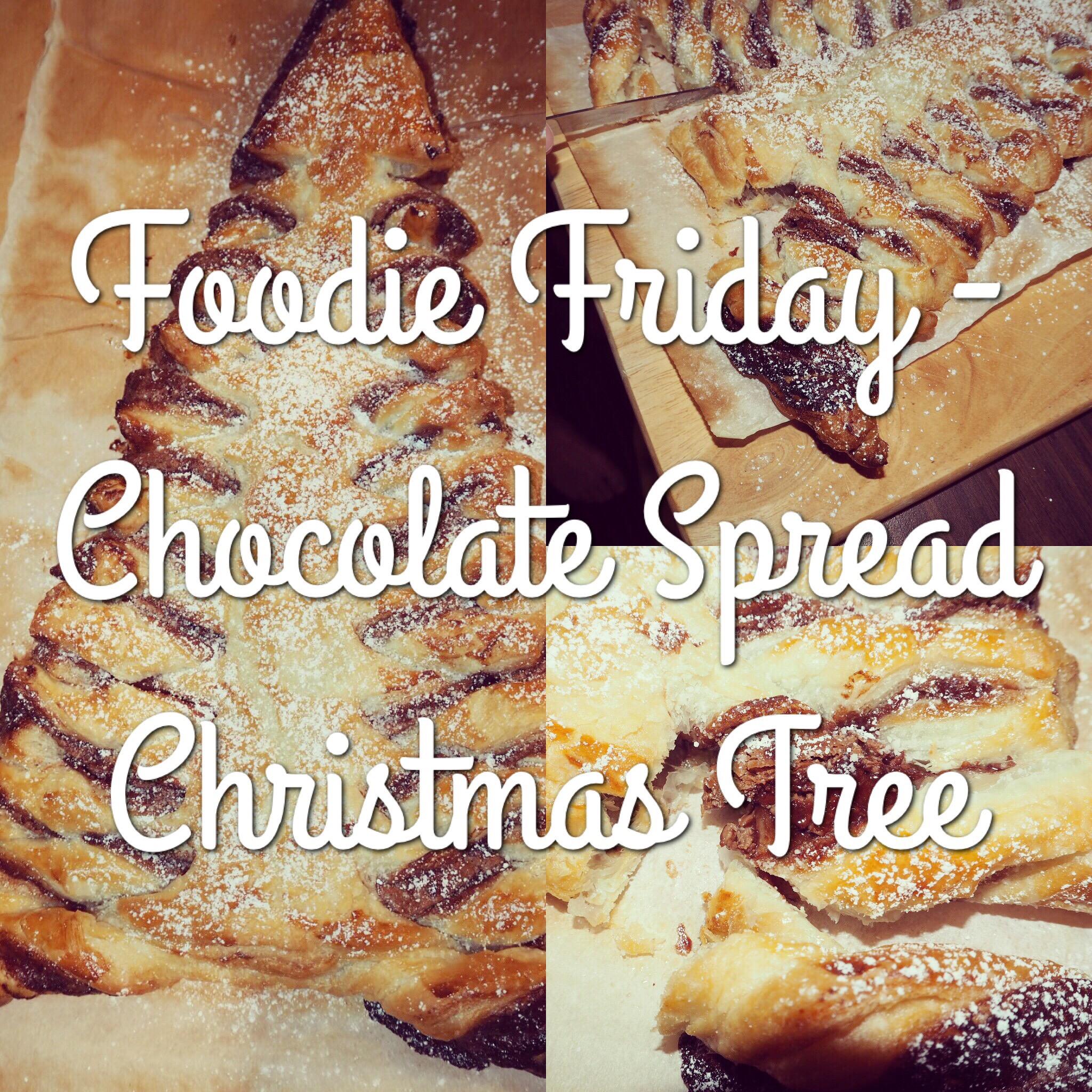 Foodie Friday - Chocolate Spread Christmas Tree - evenangelsfall