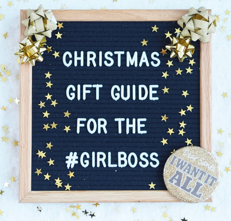 Christmas Gift Guide for The Girl Boss – evenangelsfall